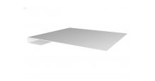 Металлические доборные элементы для фасада в Брянске Планка завершающая простая 65мм