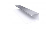 Металлические доборные элементы для фасада в Брянске Планка П-образная/завершающая сложная 20х30