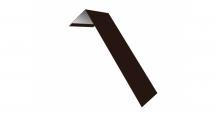 Металлические доборные элементы для фасада в Брянске Планка лобовая/околооконная простая 190х50